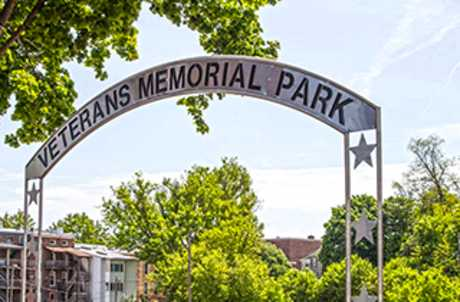 Veterans Memorial Park for TourCayuga