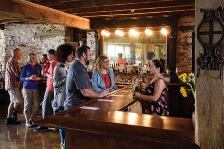 Tastings at Springfield Manor Winery And Distillery