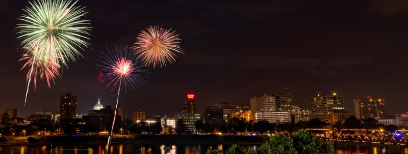 Harrisburg City Fireworks
