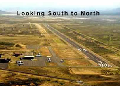 Airport-South to North
