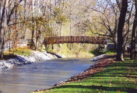 brownsburg Arbuckle bridge