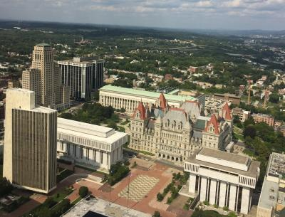 View from Corning Tower
