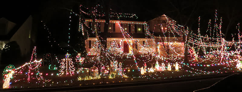 The Bestebreurtje Home - Christmas Lights in Fairfax County