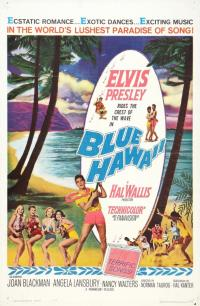 blue hawaii PAC movie poster