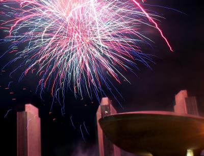 Copy of Empire State Plaza fireworks