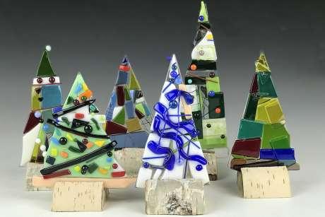 Art at Brucemore: Glass Trees Workshop