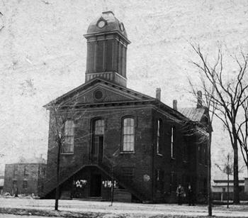 Johnston County Courthouse 1880s