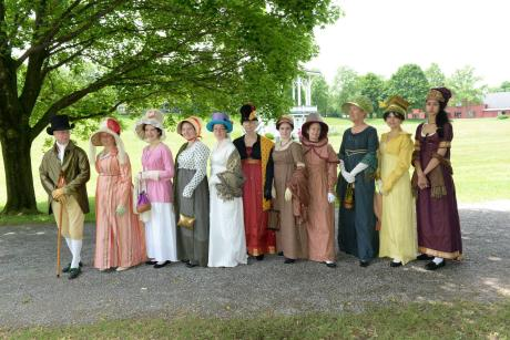 Jane Austen Weekend at GCVM