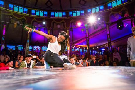 Dancers at Rochester Fringe Festival