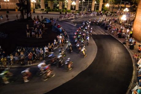 racers speed through downtown Rochester, Ny