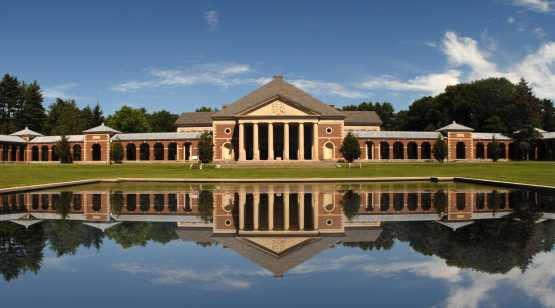 Saratoga Spa State Park reflecting pool