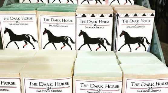 Dark Horse Mercantile display of soaps