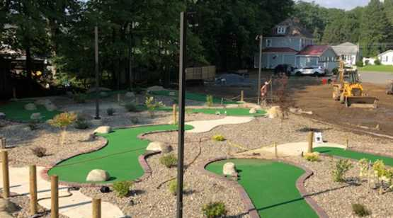 Olde Saratoga Mini Golf view 1