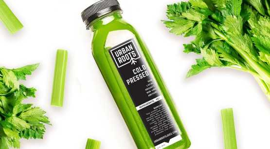 Urban Roots celery juice