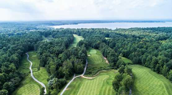 Saratoga Lake Golf Club drone 1