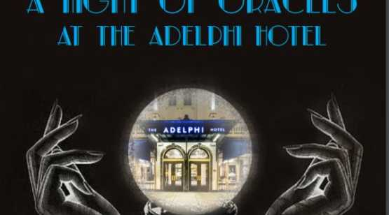 Adelphi Oracles event flyer