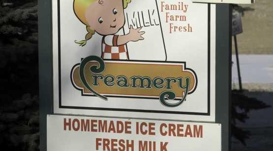 battenkill creamery sign