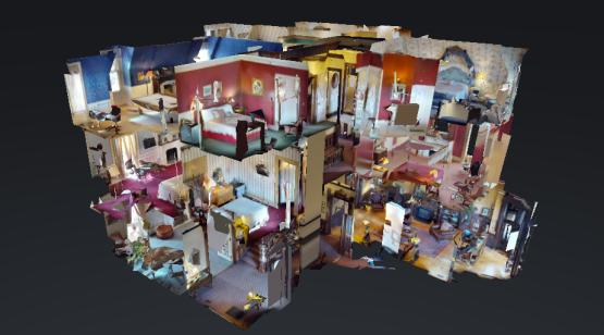 Precision Virtual Tours Dollhouse Shot