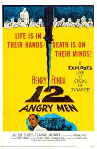 12 angry men PAC movie poster