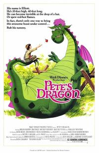 petes dragon PAC movie poster