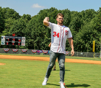 Bryce Harper in Fairfax County
