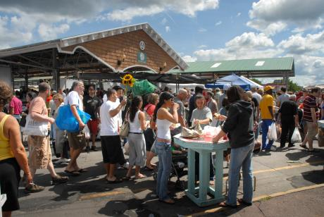 The Rochester Public Market in Rochester, NY