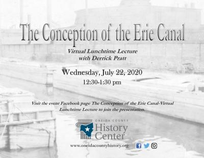 The Conception of the Erie Canal