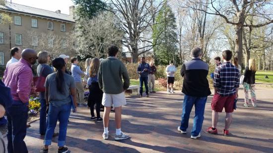 UNC Campus tours