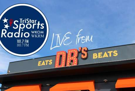 Tri Star Sports Radio Show LIVE at DB's