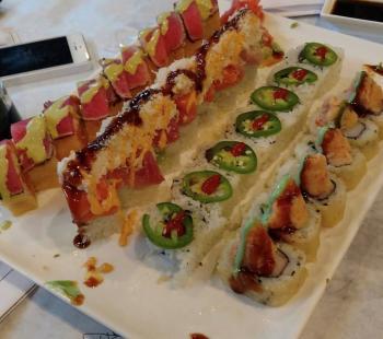 ronin sushi platter