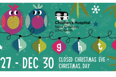 Open On Christmas Day 2020 Baton Rouge ZOOLIGHTS at the Baton Rouge Zoo Presented by Children's Hospital