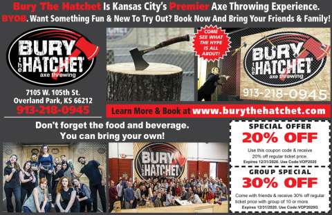 Bury The Hatchet Coupon
