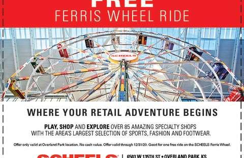 Scheels Ferris Wheel Coupon