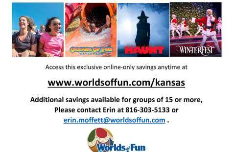 Worlds Of Fun Discounts