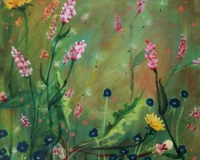 Tucked Away:  Paintings and Photography by Sandra Dwileski