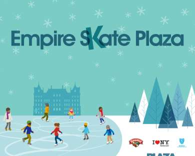 Empire Skate Plaza Ice Rink