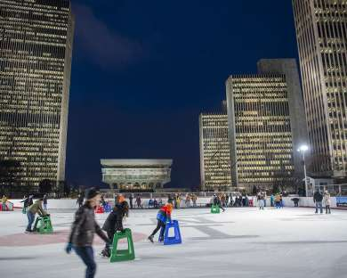 2019-2020 Empire State Plaza Ice Rink