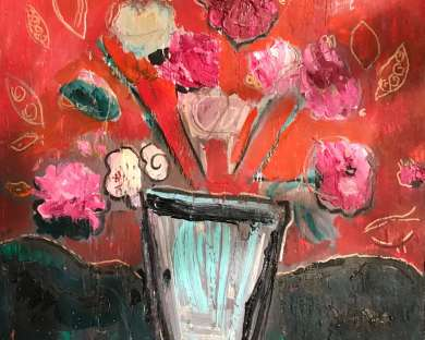 BRUSHSTROKES: Oil paintings by Tina Lincer