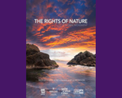 THE RIGHTS OF NATURE Film screening, with filmmaker and English professor Hal Crimmel