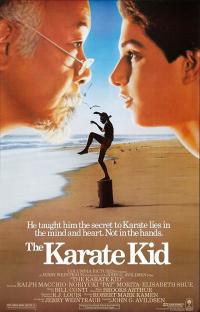 the karate kid PAC movie poster