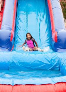 Freedom Fest water slide