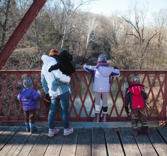 McCloud Nature Park bridge