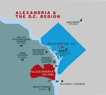 Alexandria Hotels for Washington, DC Travelers
