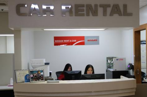 Nissan Rent a Car Main Location