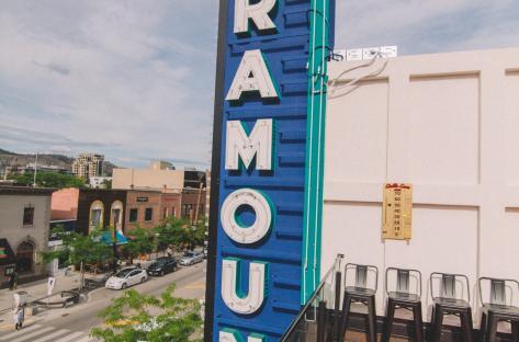 CRAFT Paramount Sign