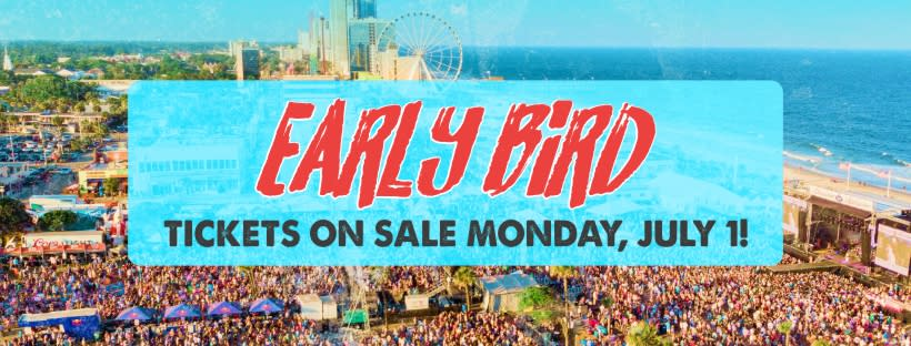CCMF 2020 Early Bird Tickets on Sale July 1, 2019!