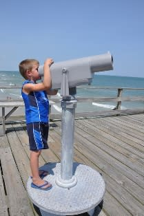 Boy with Viewfinder