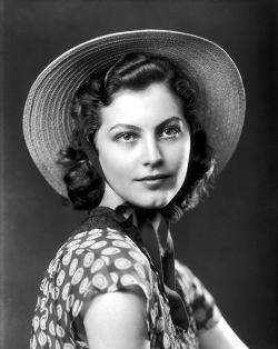 Ava Gardner discovery photo, c. 1940.