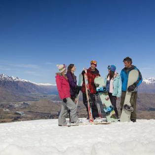 Group Snow Fun