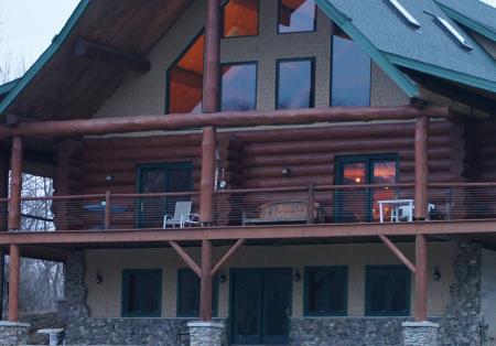 Natural Valley Ranch cabin